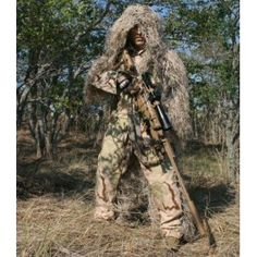 Ultra-Light Sniper BDU Jacket and Pant Ghillie Suit