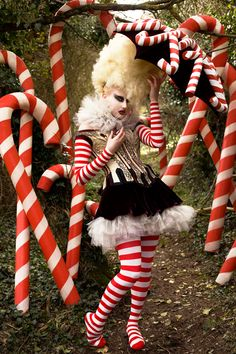 'The Vanity Of The Candy Cane Witch' (2010) Wonderland Series, Kirsty Mitchell Photography