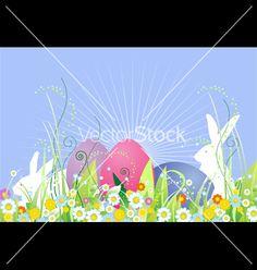 Free Vector   Easter vector 59200 by belarusochka on VectorStock®