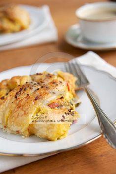 Savory Vegan Breakfast Pastry