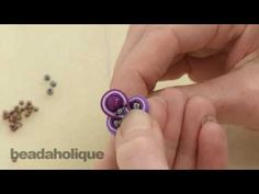 How to do Soutache Bead Embroidery: Part 4 How to Make a Bead Bridge and Attach a Jump Ring