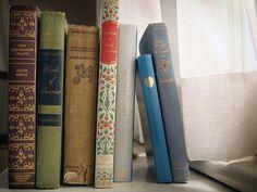 A shelf of books never fails to thrill me...