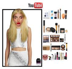 """YouTube : Christmas Make up !!"" by deeplove111 ❤ liked on Polyvore featuring moda, Opening Ceremony, Nivea, Smashbox, Urban Decay, MAC Cosmetics, Too Faced Cosmetics, NARS Cosmetics, NYX y Stila"