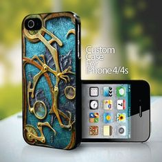 steampunk - design for iPhone 4 or 4s case