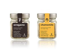 Oregano and Chamomile by OLIVUS on Packaging Design Served