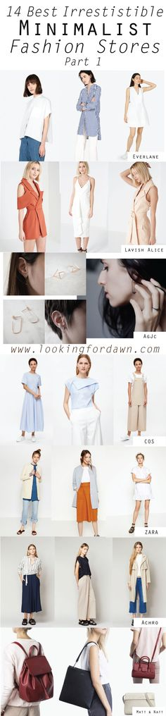 Less is more in this new trend. Channel your inner minimalist with these amazing staples from the shops I curated for you.