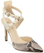 GUESS Women's Brea Studded Straps Pumps