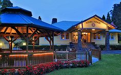 Kilauea Lodge is located in the quiet village of Volcano a mile from Hawaii Volcanoes National Park. The Park is home of Hawaii's active volcano Kilauea