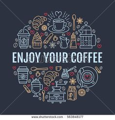 Find Coffee Making Poster Template Brewing Vector stock images in HD and millions of other royalty-free stock photos, illustrations and vectors in the Shutterstock collection. Coffee Shop Branding, Coffee Logo, Coffee Poster, Coffee Cafe, Coffee Bar Design, Coffee Shop Interior Design, Mural Cafe, Tea Wallpaper, Coffee Artwork