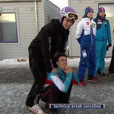 Stefan Kraft, Andreas Wellinger, Ski Jumping, Athletes, Skiing, Jumper, Guys, Random, Celebrities
