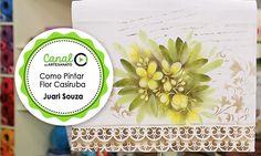 Como Pintar Flor Casiruba - Juari Souza