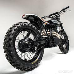 """Honda XL500 """"Swart Gevaar"""" by Los Muertos Motorcycles (via Bike EXIF) #Honda #HondaCivic #HondaCars"""