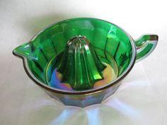 Glass Orange Juicer Very Rare Vintage. Deep by SilkRoadBoutique ...
