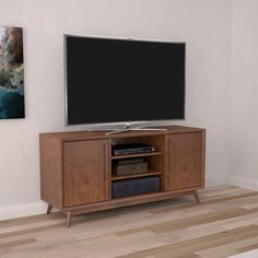 BellO Leawood 54 in. TV Stand - Mahogany Cherry - TC54-6166-M333