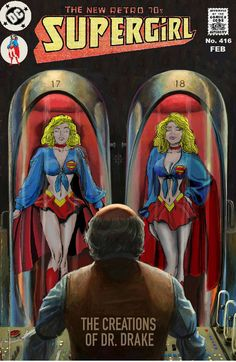 SG-Creations-Drake by wwcape on DeviantArt Supergirl Series, Power Girl Supergirl, Supergirl Comic, Comic Books Art, Comic Art, Dc Trinity, Avengers Alliance, Superman Art, American Dad