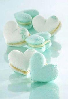 Heart-Shaped Macarons