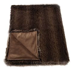 Helen Moore Faux Fur Brown Bear Standard Throw ($310) ❤ liked on Polyvore featuring home, bed & bath, bedding, blankets, brown, brown blanket, faux fur bedding, faux fur throw, fake fur blanket and brown faux fur throw