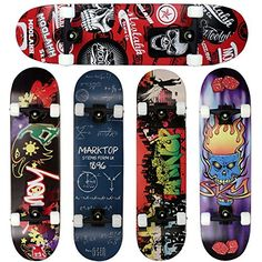 Sale Preis: FunTomia® Skateboard mit ABEC-11 Kugellager Rollenhärte 92A und 9-lagigem Ahornholz (Es stehen verschiedene Farbdesigns zur auswahl). Gutscheine & Coole Geschenke für Frauen, Männer & Freunde. Kaufen auf http://coolegeschenkideen.de/funtomia-skateboard-mit-abec-11-kugellager-rollenhaerte-92a-und-9-lagigem-ahornholz-es-stehen-verschiedene-farbdesigns-zur-auswahl  #Geschenke #Weihnachtsgeschenke #Geschenkideen #Geburtstagsgeschenk #Amazon