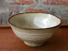 Ceramic Rice Bowl , Serving Asian Cusine, wabi sabi in Glazed , Handmade Stoneware bowl ceramic