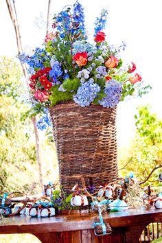 Inspiracao para casamento rustico rustic decor #rusticdecor #bluedecor #rusticwedding #bluewedding