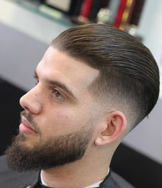 59 Best Slicked Back Haircuts Images Slick Hairstyles Haircuts