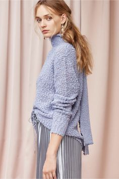 FINDERS KEEPERS ODESSA KNIT steel blue