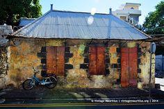 Old Abandoned House - Dauphine Street - Vintage Mauritius