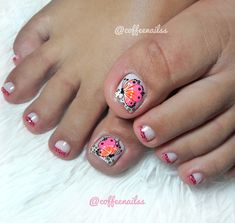 Toe Nail Designs, Manicure And Pedicure, Toe Nails, Diana, Angeles, Hair Beauty, Mary, Nail Art, Makeup