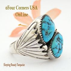 Four Corners USA Online - Size 14 Sleeping Beauty Turquoise Men's Ring Native American Zuni Silver Jewelry NAR-09034, $186.00 (http://stores.fourcornersusaonline.com/size-14-sleeping-beauty-turquoise-mens-ring-native-american-zuni-silver-jewelry-nar-09034/)