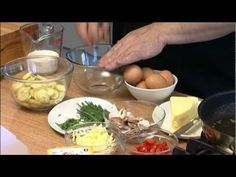 #happyeggs Mat Follas recipes -- Happy Egg Baked Omelette - YouTube