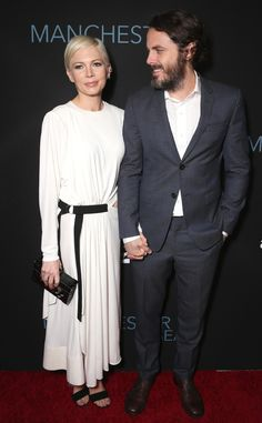 Michelle Williams & Casey Affleck from Movie Premieres: Red Carpets and Parties!  The Manchester By the Sea co-stars attend the L.A. premiere of their new drama at the Samuel Goldwyn Theatre.