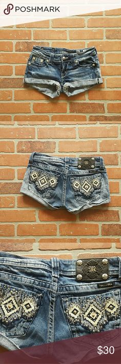Miss Me short shorts These shorts are in good, gently used condition.    BUNDLE AND SAVE ON SHIPPING!  20% OFF ANY 2 ITEMS OR MORE IN MY CLOSET!! Miss Me Shorts Jean Shorts