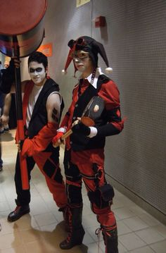 Cosplay of Male Versions of Harley Quinn