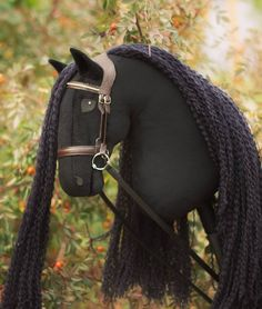 Friesian hobbyhorse Maleficent, by Eponi Hobbyhorses. Friesian hobbyhorse Maleficent, by Eponi Hobbyhorses. Equestrian Boots, Equestrian Outfits, Equestrian Style, Equestrian Fashion, Maleficent, Horse Information, Stick Horses, Horse Crafts, Hobby Horse