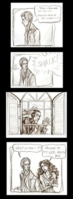 Phantom of the Opera and Les Mis mash up... @gwendolyn @ gg design | pinkgraygold.com Bell I'm sure you'll appreciate this ;)