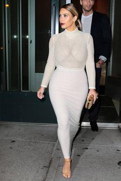 Why Kim Kardashian's new signature style works so well this season: