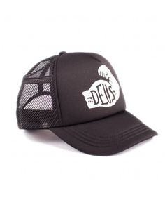 DEUS Spinach Trucker cap - Black