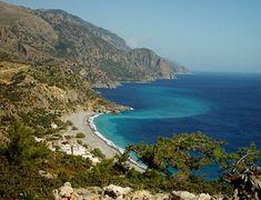 Village of Sougia, southern coast of Crete