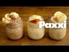 Πρωινά με βρώμη - paxxi Snack Recipes, Cooking Recipes, Healthy Recipes, Snacks, Soup Mixes, Easy Cooking, Smoothies, Food And Drink, Pudding