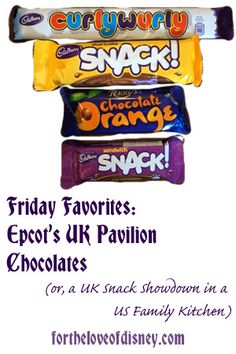Friday Favorites: Epcot UK Pavilion Chocolate - For the Love of Disney