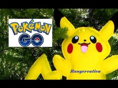 Pokemon GO atrapa tu PIKACHU - MOLDES GRATIS / Ronycreativa - YouTube