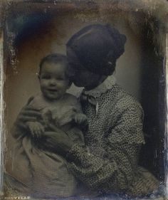 Unidentified Mother & Child c.1850 by George Eastman House, via Flickr