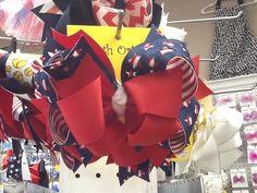 $15 Fourth of July fun bow