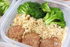 my nutritious dish: basic turkey meatballs