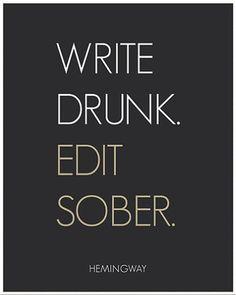 Ernest Hemingway Tired works too ;)