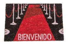 Felpudo Alfombra Roja Lana, Kids Rugs, Vegan, Ideas, Home Decor, Original Gifts, Gift Shops, Red Carpet, Sweet Home