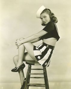 Ann Sheridan - from Navy Blues.