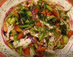 Салат из сладкого перца с огурцом и куриной грудкой | Официальный сайт кулинарных рецептов Юлии Высоцкой