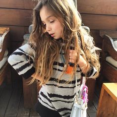 We are talent scouting @JacquesSienna look who is wearing our tassel necklace today #gorgeous #kidsjewels