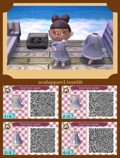 QRS and Tutorials for all your Animal Crossing needs! Ac New Leaf, Happy Home Designer, City Folk, Animal Crossing Qr Codes Clothes, Post Animal, Cute Games, Little Island, Mint Blue, Cold Day